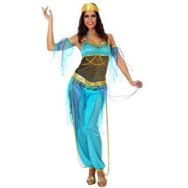 D�guisement De Danseuse Arabe Bleu Taille M/L