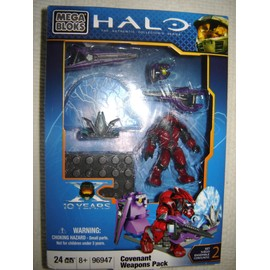Halo Mega Bloks 96947 : Convenant Weapons Pack