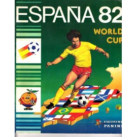 Album Panini Espana 82 N� 1982 : World Cup