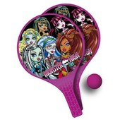 Monster High - Lot De 2 Raquettes + Balle