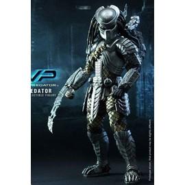 Alien Vs. Predator Figurine Movie Masterpiece 1/6 Scar Predator 36 Cm