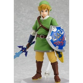 Good Smile Company - 019687 - The Legend Of Zelda Skyworld Sword Figurine Figma Link