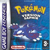 Pok�mon Saphire Version - Ensemble Complet - Game Boy Advance - Cartouche De Jeu - Fran�ais