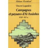 Campagnes Et Paysans D'al-Andalous de Vincent Lagard�re