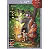 Le Livre De La Jungle - Pack Dvd + de Wolfgang Reitherman