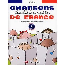 CHANSONS TRADITIONNELLES DE FRANCE POUR VIOLON