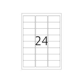 Herma Special - �tiquettes En Film Mat Autocollant Poly�thyl�ne Pour Ext�rieur - Blanc - 63.5 X 33.9 Mm 240 �tiquette(S) ( 10 Feuille(S) X 24 )