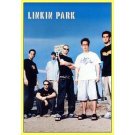 Poster encadré: Linkin Park - Speed Limit (91x61 cm), Cadre Plastique, Jaune