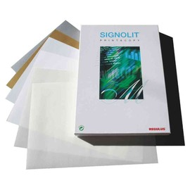 Regulus Film Pet Autoadh�Sif Signolit Sc, Format A4,