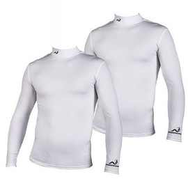 Lot 2 Maillots De Corps Woodworm Pro Series Hiver