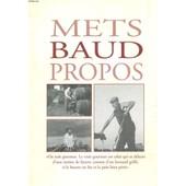 Mets Baud Propos - Carte Du Restaurant Baud Et Millet. de Dauce Gerard
