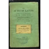 Les Auteurs Latins. Cic�ron : Discours Pour Ligarius. de MATERNE A.