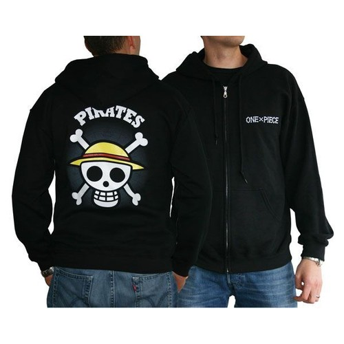 ABYstyle One Piece - Sweat - Skull With Map Homme Black - S