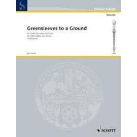 Greensleeves to a Ground - Flûte à bec ténor et piano