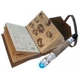 Figurine - Doctor Who - Journal Des Choses Impossibles & Sonic Screwdriver