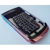 Kit Coque De Remplacement - Noir & Chrome Iris� - Blackberry Bold 9700 (Coque + Boutons + Ch�ssis + Clavier Qwerty)