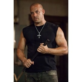 Pendentif Croix Fast And Furious 6 Vin Diesel Dominic Toretto