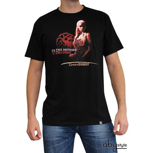 ABYstyle Game Of Thrones - Tshirt Mother Of Dragons Homme Mc Black - Basic (Xxl)