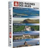 Des Racines Et Des Ailes - Passion Patrimoine - Le Mont Saint-Michel Et Sa Baie + Le Nord Au Coeur + Un Balcon Sur La Provence + Les Couleurs Du P�rigord + Un Balcon Sur Le Dauphin�