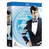 3 Films Cultes De Belmondo - Les Tribulations D'un Chinois En Chine + L'homme De Rio + Le Magnifique - Pack - Blu-Ray de Philippe De Broca