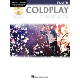 Flute Play-Along : Coldplay + CD