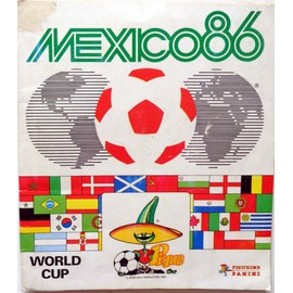 Album Panini N� Mondial 86 : World Cup Mexico 1986
