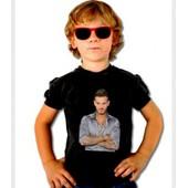 T-Shirt Noir M Pokora - Taille Enfant