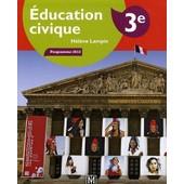 Education Civique 3�me Programme 2012 de H�l�ne Lampin