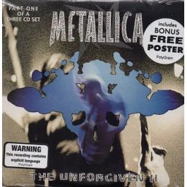 CD SINGLE METALLICAThe Unforgiven II Australian 4-track CARD SLEEVE includes Bonus Free Poster