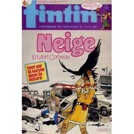 Tintin N� 617 Du 07/07/1987 : Neige - La Mort Corbeau