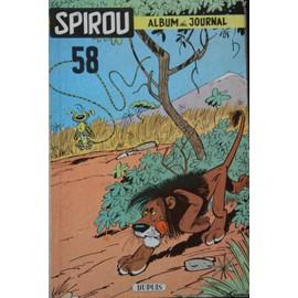 Album Du Journal Spirou - N� 58