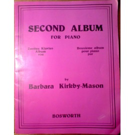Second Album For Piano by Barbara Kirkby-Mason