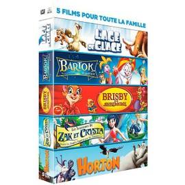 Image 5 Films Pour Toute La Famille Lage De Glace + Bartok Le Magnifique + Brisby Et Le Secret De Nimh + Les Aventures De Zak Et Crysta + Horton Pack