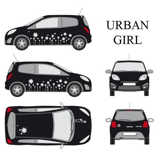 URBAN GIRL-1 / BLANC