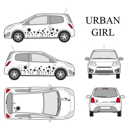 URBAN GIRL-1 / NOIR