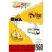 Catalogue Rma 1960 de collectif