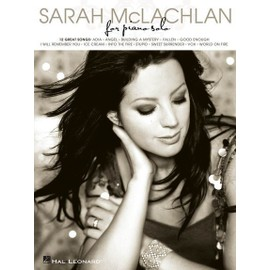 Sarah McLachlan For Piano Solo