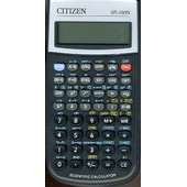 Calculatrice Citizen Sr-260n