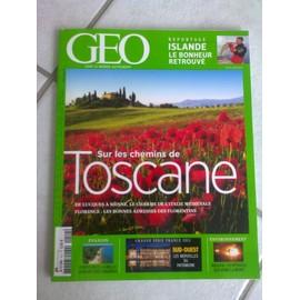 Geo 2013 (N�412) Sur Les Chemins De Toscane