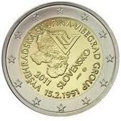 Pi�ce 2 Euros Comm�morative Slovaquie 2011 - Pi�ce Unc