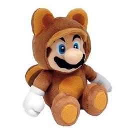 Super Mario Bros. Peluche Tanuki Mario 21 Cm