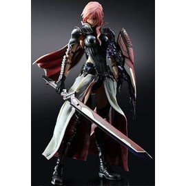 Lightning Returns: Final Fantasy Xiii Play Arts Kai Figurine Lightning 26 Cm