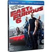 Fast & Furious 6 - Combo Blu-Ray+ Dvd + Copie Digitale - �dition Bo�tier Steelbook de Lin Justin