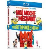Coffret Trop Moche Et M�chant : Moi, Moche Et M�chant 1 Et 2 - Blu-Ray de Pierre Coffin
