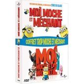 Coffret Trop Moche Et M�chant : Moi, Moche Et M�chant 1 Et 2 de Pierre Coffin