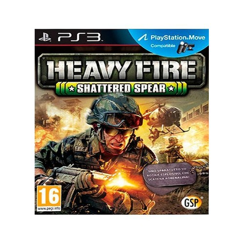 Heavy Fire Shattered Spear PS3 - PlayStation 3