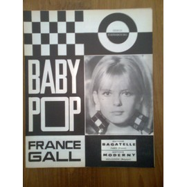 """Partition """"Baby Pop"""" (France Gall)"""