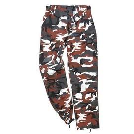 Pantalon Us Ranger Forme Treillis Bdu Red Camo Camouflage Miltec 11810082 Airsoft