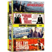 Coffret Braquage 4 Films : Braqueurs + Une Arnaque Presque Parfaite + Braquage � New York + Kill The Gringo - Pack