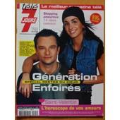 T�l� 7 Jours 2229 : Enfoir�s 4p (David Hallyday & Jenifer, Interview Marc Lavoine) - Dicaprio 2p